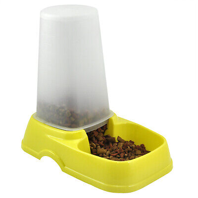 Automatic Pet Food Water Dispenser Pet Feeder Bowl - By TRIXES