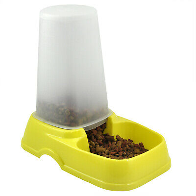 TRIXES Automatic Pet Food Water Dispenser Pet Feeder Bowl