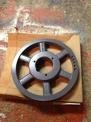 Browning 2Q3V106 4FH07 2 Groove Metal Pulley Steam Punk Art Part Industrial Zy