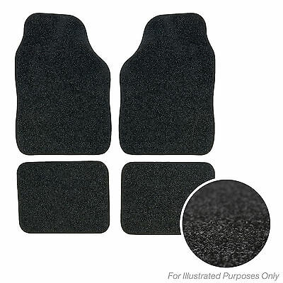 New Fits Nissan Note 13 On Black Tailored Set of 4 Fitted Carpet Car Floor Mats
