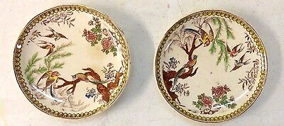 Collectible Small Plates, 4 inches wide