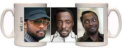 Will.i.am mug The Voice Black eyed peas William Great Gift mug
