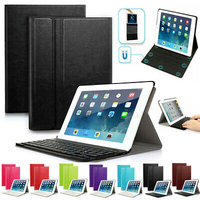 PU Leather Case Cover with Bluetooth Wireless Keyboard Stand for iPad 2/3/4