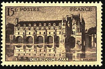 """FRANCE STAMP TIMBRE N° 610 """" CHATEAU CHENONCEAUX 15F """" NEUF xx TTB"""
