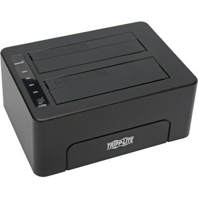 NEW Tripp Lite U339-002 USB 3.0 To Dual SATA Docking / Cloning Station Drive