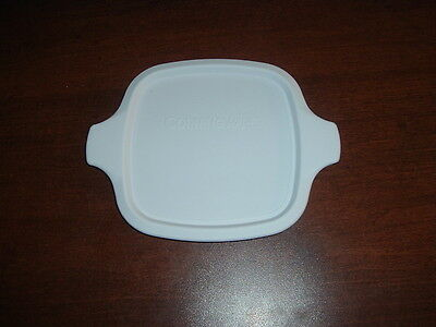 Corning Ware New White Plastic Lid For Petite Pans, P-41 & P-43