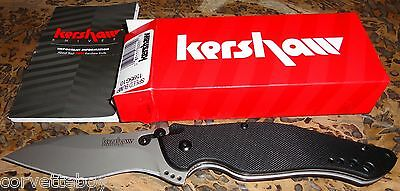 NEW KERSHAW #1595 TACTICAL G10 SPEED BUMP FOLDING STUD LOCK KNIFE - KEN ONION