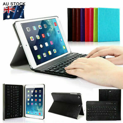 Wireless Bluetooth Hard Keyboard Case Cover with Stand Fit for iPad Mini 1/2/3