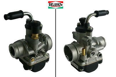 02508 Carburatore Dell'orto Phbg 15 Bs Aria Manuale Scooter Ciclomotore
