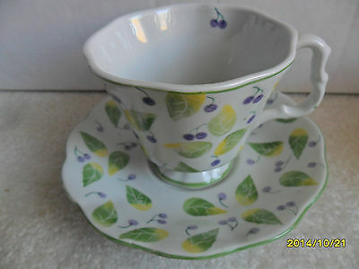 ANDREA BY SADEK CUP AND SAUCER SET