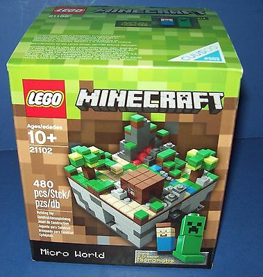LEGO MINECRAFT 21102 MICRO WORLD THE FORREST Cuusoo Fan Requested NISB Sold out