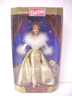 ****NIB BARBIE DOLL 1998 GOLDEN WALTZ  OVER 1,000 BARBIES LISTED OUR STORE