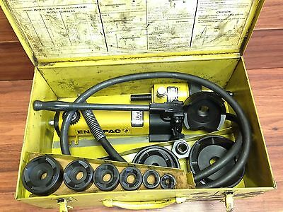 Nice !! Enerpac P 142 / Rch 1211 Knockout Set 1/2 - 4 ""