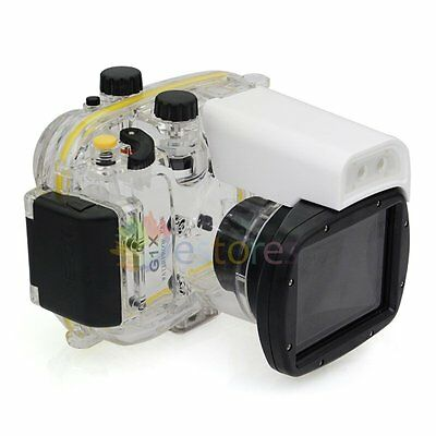 Meikon WP-DC44 40m 130ft Waterproof Diving Housing Case For Canon G1X Camera【UK】