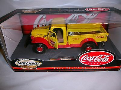 Matchbox Coca Cola 1946 Dodge Powerwagon  NRFB What they call large Scale
