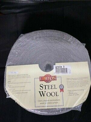 Liberon 1Kg 0 Fine Grade High Quality Steel Wire Wool