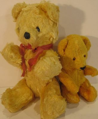Vintage Cotton Plush Gold Mini Bears - Lovely, unplayed with condition - 1940s