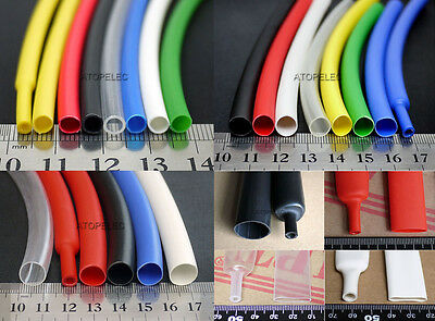 1.6MM-25.4MM Adhesive Lined 3:1 Heat Shrink Tubing ROHS Waterproof