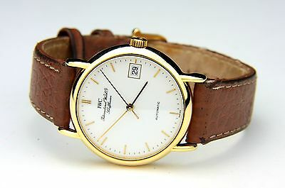 IWC Portofino ref. 3513 18ct yellow GOLD AUTOMATIC MINT CONDITION w/original BOX