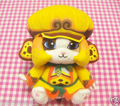 CAPCOM Monster Hunter Otomo Airou Plush / Japan BANPRESTO Ichiban Kuji Toy Doll