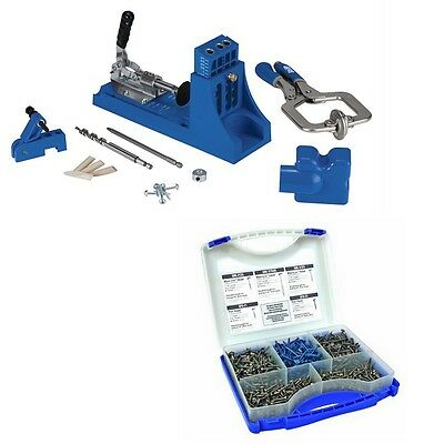 K4MS+SK03 - Kreg K4MS Jig Master System + FREE Kreg 675 Pocket-Hole Screw Kit