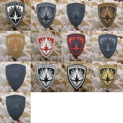 Guardians of the Galaxy Tactical morale Military 3D PVC Patch Style1