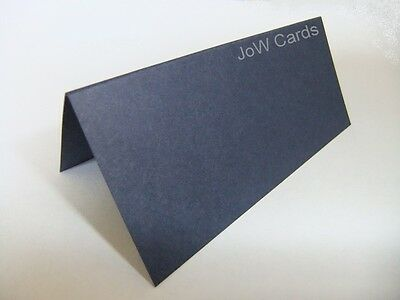 50 Navy Blue (220 gsm) Wedding Name / Place Cards