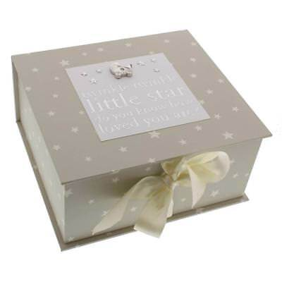Baby Keepsake Box with Icons Baby Gift CG1059