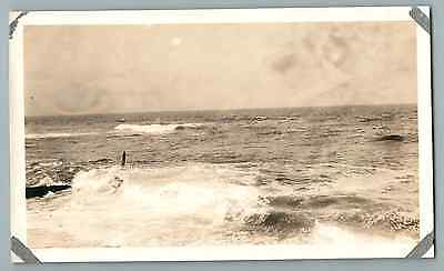 Percy B. Pope, USA, New Jersey, Surf Asbury Park  Vintage silver print. Photo pr