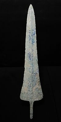 Zurqieh -  Over 3000 Years Old Bronze Sword Blade- 1200 B.c , 13 3/4 ""