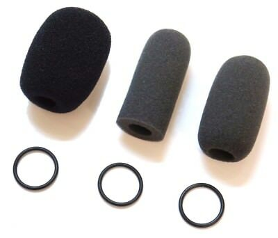 Sample Pack Pilot Aviation Headset Mic Cover Microphone Windsheild Foam Sponge