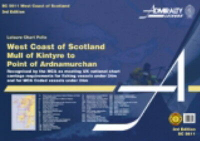 ADMIRALTY FOLIO SC5611 MULL OF KINTYRE to PT. OF ARDNAMURCHAN - 2016 edn - NEW