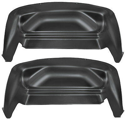 HUSKY Chevy Silverado 1500 2500 3500 HD Wheel Well Guards for Rear Fenders 79001