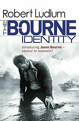 The Bourne Identity  (Bourne 1), Ludlum, Robert Paperback Book The Cheap Fast