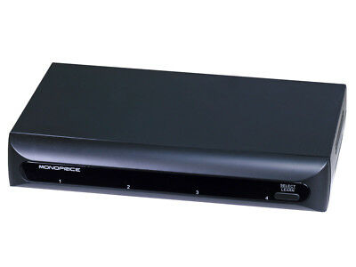 Monoprice 3027 4 Port Component Video Switch w/ IR Learning