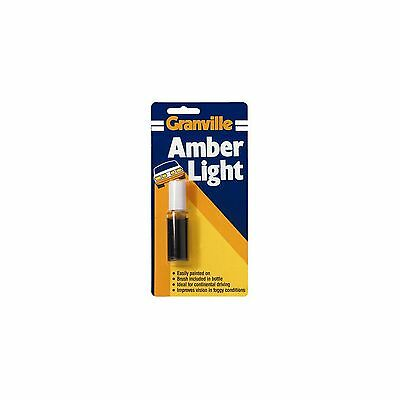 0010 * Pack of 3 Granville Amber Light Paint For Car /& Motorhome Headlamps
