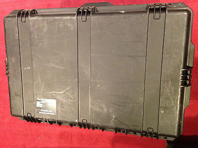 "MILITARY PELICAN HARDIGG BLACK  ROLLING HARD CASE iM2975 30""X21""X15"" TRANSPORT"