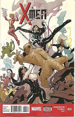 X- Men #20 (NM)`14 Guggenheim/ Tolibao