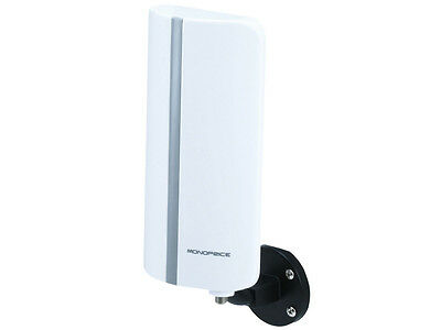 Monoprice 4730 HDTV Indoor Outdoor Antenna Low Noise Amplifier 20dB VHF UHF HD