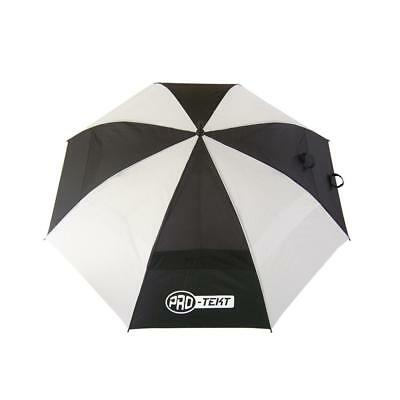 Pro-Tekt Golf Dual Canopy Umbrella (Black / White)