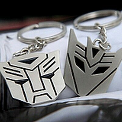 new couple key chain ring boy & girl Transformers keychain Couples Keyring Set
