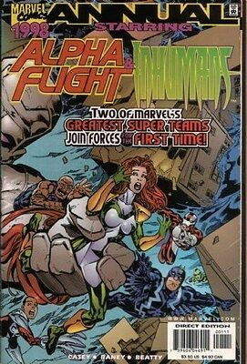 Alpha Flight Vol. 2 (1997-1999) Ann. '98