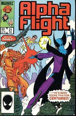 Alpha Flight Vol. 1 (1983-1994) #21