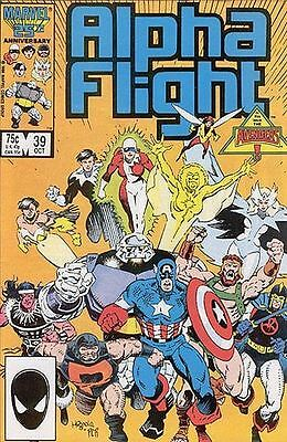 Alpha Flight Vol. 1 (1983-1994) #39
