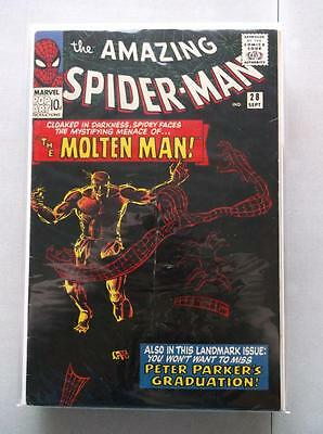 Amazing Spider-Man Vol. 1 (1963-2014) #28 FN- UK Price Variant