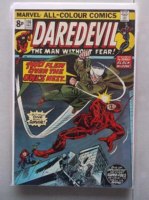 Daredevil Vol. 1 (1964-2011) #116 FN/VF UK Price Variant