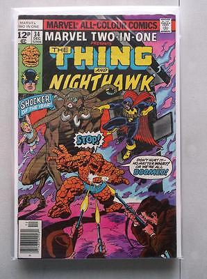 Marvel Two-In-One (1974-1983) #34 VF UK Price Variant
