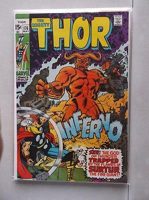 Mighty Thor Vol. 1 (1966-2011) #176 VF (Writing on Back Cover)