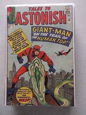 Tales to Astonish Vol. 1 (1959-1968) #55 VF UK Price Variant