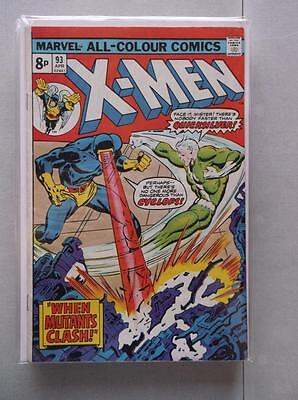 Uncanny X-Men Vol. 1 (1963-2011) #93 FN/VF UK Price Variant